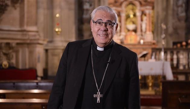 El arzobispo de Granada, Javier Martínez. EUROPA PRESS